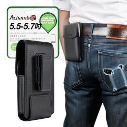 Achamber for 三星 Samsung Galaxy Note 20 個性型男旋轉直立腰掛皮套