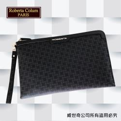 (Roberta Colum)諾貝達百貨專櫃手拿包 側背包 商務包(8911黑色)