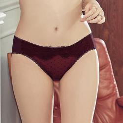 【瑪登瑪朵】無比集中低腰三角內褲(媚力紫)
