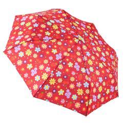 RAINSTORY雨傘-水果花朵(紅)抗UV個人自動傘