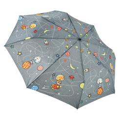 RAINSTORY雨傘-火箭狗狗(灰)抗UV個人自動傘