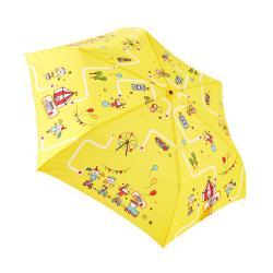 RAINSTORY雨傘-歡樂馬戲團(黃)抗UV手開輕細口紅傘