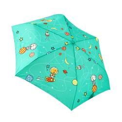 RAINSTORY雨傘-火箭狗狗(青)抗UV手開輕細口紅傘
