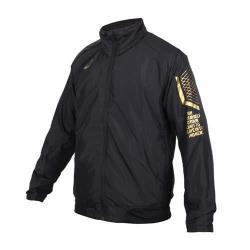 ASICS 男LIMO平織外套-刷毛 保暖 立領外套 慢跑 風衣 亞瑟士