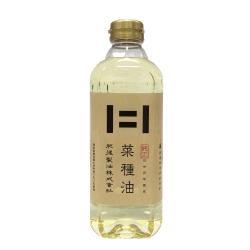 日本百年製油廠肥後100%初榨菜種油