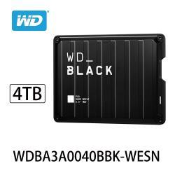 WD威騰 BLACK P10 Game Drive 4TB 2.5吋電競行動硬碟 WDBA3A0040BBK-WESN