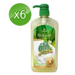 台塑生醫BioLead蘆薈洋甘菊碗盤洗潔精1000gx6瓶