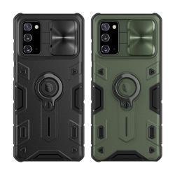 NILLKIN SAMSUNG Galaxy Note 20 黑犀保護殼(金屬蓋款)
