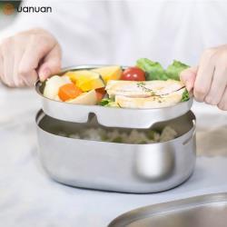 【源源鋼藝 uanuan】Bendong 不鏽鋼便當盒+承食包