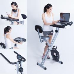 [X-BIKE 晨昌] 磁控健身車 書桌車 超大座墊 超大書桌 台灣精品 19808