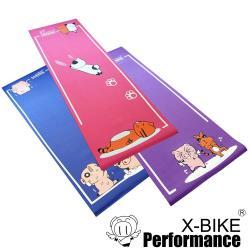X-BIKE晨昌 卡通造型瑜珈墊/地墊/防震墊-三件組