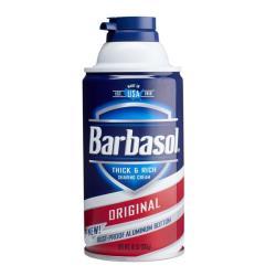 美國Barbasol刮鬍泡--2款選擇(10oz)*6