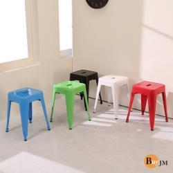 BuyJM工業風格鐵烤餐椅/洽談椅/休閒椅 I-N-CH021-1