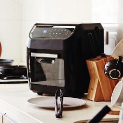 LazySusan 氣炸烤箱 科技黑