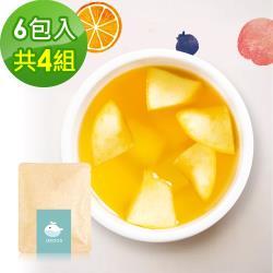 i3KOOS-花漾果香綠茶(可冷泡)-隨享包4組(6包入)