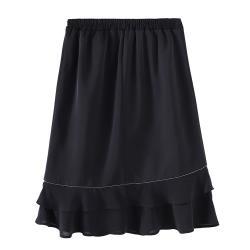 麗質達人 - 38093簡約秋冬小短裙