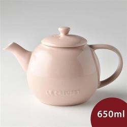 Le Creuset 花蕾系列茶壺 花漾粉