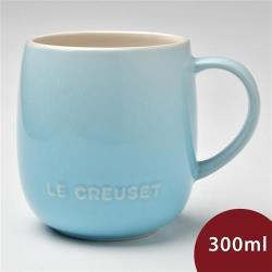 Le Creuset 蛋蛋馬克杯 380ml 水漾藍