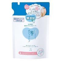日本 牛乳石鹼  無添加泡沫沐浴乳 補充包500ml