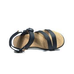 【Dogyball】簡單穿搭 輕鬆生活 輕量化軟木平底織帶涼鞋