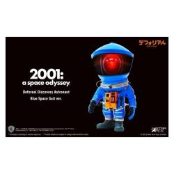 Star Ace toys Defo-Real 太空漫遊 宇航員 藍色