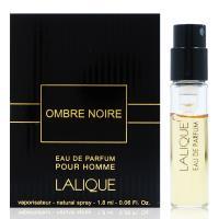 Lalique Ombre Noire Homme 黑影黑澤 淡香精針管1.8ml