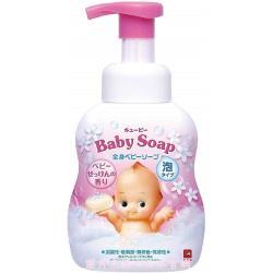 日本 牛乳石鹼  裘比寶寶泡泡澡沐浴乳400ml-皂香