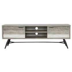 【AT HOME】輕工業風仿舊木紋5.3尺電視櫃/長櫃/客廳櫃(哈瓦那)