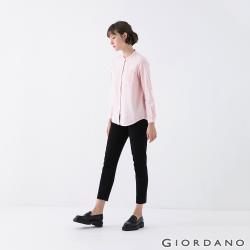 GIORDANO 女裝腰頭半鬆緊純棉卡其褲 (多色任選)