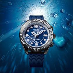CITIZEN 星辰 GPS衛星對時 鈦金屬潛水手錶(CC5006-06L)