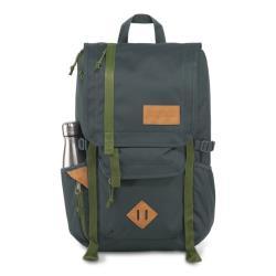 JanSport休旅背包(HATCHET)-石板藍奧利綠