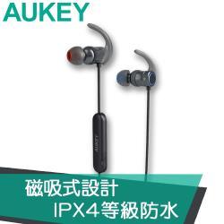【AUKEY】EP-B67 aptX磁吸式藍牙運動耳機