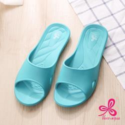 【維諾妮卡】好評回購★香氛舒適室內拖鞋-綠色