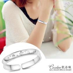 《Caroline》★【梅花】925鍍銀手環.典雅設計優雅時尚品味流行時尚手環68202