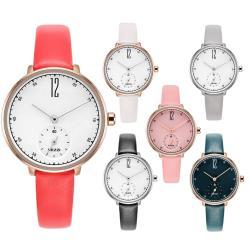 KEZZI珂紫 K-1732 時尚復古小秒設計皮帶手錶