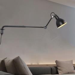 HR 安室家 伸縮長桿萬能工作壁燈