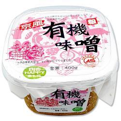 【味榮】京風 有機釀造味噌(粗)400g