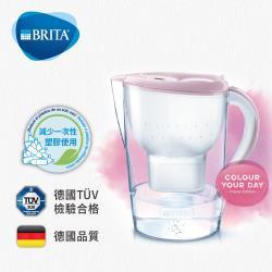 德國BRITA Marella 3.5L馬利拉濾水壺+3入去水垢濾芯 (共4芯)