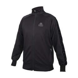 KAPPA 男女針織運動外套-運動 上衣 路跑 慢跑 3M 吸濕排汗