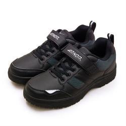 【ARNOR】男 防滑多功能工作鞋 即刻防滑系列(黑灰 93970)
