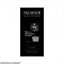 FINAL FANTASY VII 系列 金屬貼紙 神羅