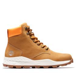 Timberland 男款小麥色Brooklyn磨砂革休閒靴A2DSZ231
