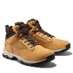 Timberland 男女款小麥色Keele Ridge磨砂革防水靴A1HXW231