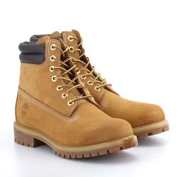Timberland 男款小麥色磨砂革防水6吋靴73540231