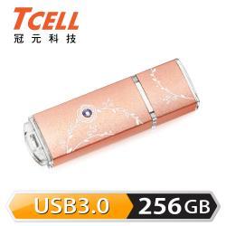【TCELL冠元】USB3.0 256GB 絢麗粉彩隨身碟(三色任選)