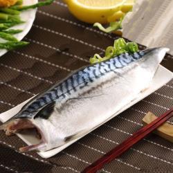 【八方行】挪威薄鹽鯖魚片24片組(125g/片/包)