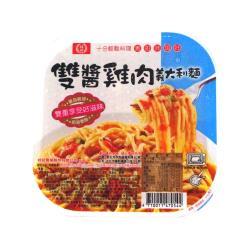 桂冠雙醬雞肉義大利麵