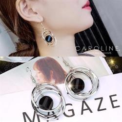 《Caroline》★韓國熱賣造型時尚絢麗閃亮動人.優雅性感耳環70151