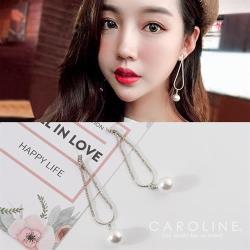 《Caroline》★韓國熱賣造型時尚耳環  閃亮動人時尚流行耳環70074