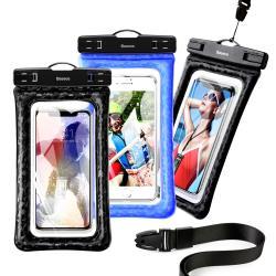 Baseus倍思 氣墊可漂浮防摔手機防水袋  6.5吋以下手機 游泳必備等 iPhone 11/11 Pro Max/Xs Max/XR可用